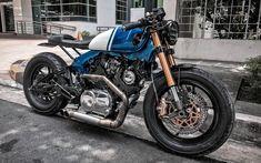 me insta: - Yamaha xjr 1300 - Motor Virago Cafe Racer, Cafe Racer Motorcycle, Scrambler Custom, Bmw Scrambler, Chopper, Future Concept Cars, 4 Door Sports Cars, Xjr 1300, Bobber Style