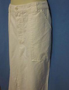 7b5105a1 Polo Ralph Lauren White Pants 34 30 Linen Cotton Pockets Casual Mint Wide  Leg. Blue Heaven Vintage