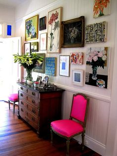 While I do love Anna Spiro's pink chairs as much as she does, I'm | Weekly Faves: 5 Inspiring Spaces! | POPSUGAR Home