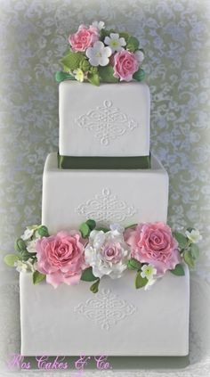 Soft roses cake, una tarta super elegante para cualquier tipo de celebracion!!