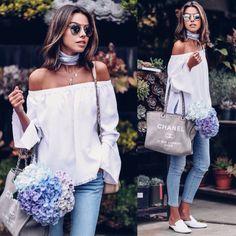 Off-duty Denim (VivaLuxury) Fashion 2017, Daily Fashion, Love Fashion, Fashion Outfits, Spring Summer Fashion, Spring Outfits, Autumn Fashion, Dior So Real, Moda Outfits
