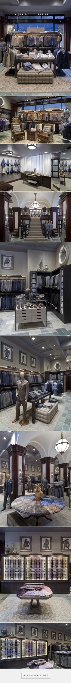 Joseph Abboud Flagship Store by Jeffrey Hutchison & Associates, New York City » Retail Design Blog... - a grouped images picture - Pin Them All