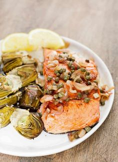 Pan-Seared Salmon wi