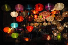 Lanterns, lanterns, lanterns everywhere....