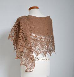 INSTANT DOWNLOAD SAMMY Crochet shawl pattern by BernioliesDesigns