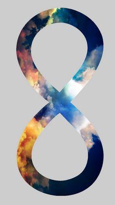 Infinite Skies Symbol iPhone 6 Wallpaper