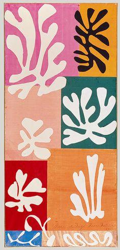 Matisse – Snow flowers, 1951