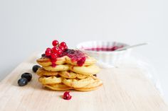What's a favorite way to eat waffles?Chicken and waffles?Waffles and fruit?A waffle (not awful) sandwich?Auguswt 24 is the day to eat and celebrate a favor Cooking With Coconut Flour, Almond Flour Recipes, Breakfast Pancakes, Best Breakfast, Buckwheat Pancakes, Paleo Pancakes, Breakfast Ideas, Breakfast Recipes, Dinner Recipes