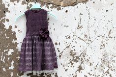 Handmade girls lace dress