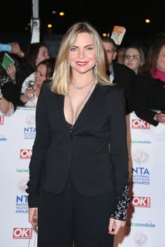 Rita Simons, Samantha Womack – 2014 National Television Awards 22.01.14