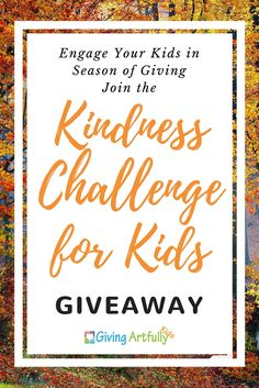 Kindness Challenge Giveaway, Kids Activities, Activities for Kids, Kindness Activity, Helping Others