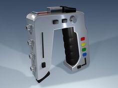"""Laser sidearm from """"Space 1999"""""""