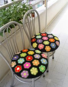 Delicadezas en crochet Gabriela: Patrón Flor africana