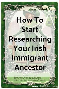 Many readers' emails center around researching the genealogy of an immigrant Irish ancestor. Researching their family line has revealed an Irish ancestor.Time to start searching the Irish records to find where they lived in Ireland and when they came to America.  Wait, not so fast!