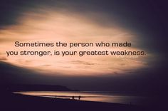 strenght & weakness