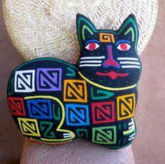 Fabulous Feline Mola Cat Pillow by molamama, $52.50