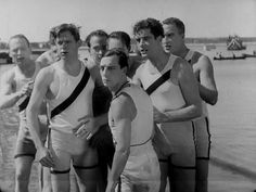 Buster Keaton - College (1927) and the crew