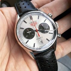 Launched 5 years ago at Basel and still minty fresh. Carrera Jack Heuer 80 Edition by @im_azrul #tagheuer #heuer #tagheuercarrera #jackheuer #calibre11