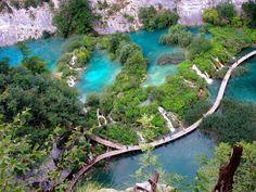 Les Lacs de Plitvice, Croatie