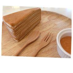 103+ factory Thai tea crepe cake Thai Milk Tea, Crepe Cake, Peanut Butter, Cooking Recipes, Ice Cream, Cakes, Sweet, Ideas, Food