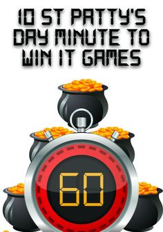 St Patrick's Day Minute to Win It Games http://www.childrens-ministry-deals.com/products/st-patricks-day-minute-to-win-it-games
