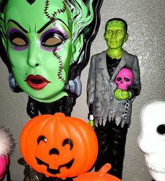 Halloween Season, Halloween Stuff, Vintage Halloween, Bride Of Frankenstein, Halloween Decorations, Seasons, Fall, Fictional Characters, Instagram