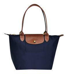 b3d5bc6dc Sac shopping S Navy - Longchamp - Galeries Lafayette | @giftryapp Sacos  Azuis, Tote