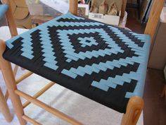 Diamond in black and teal Weaving, Chairs, Teal, Patterns, Diamond, Color, Black, Block Prints, Colour