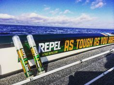 REPEL Insect Repellent is a MUST while fishing in Florida. #GetOutThere #nobugsonme
