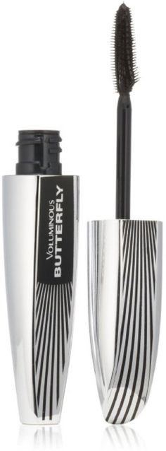 L'Oreal Paris Voluminous Butterfly Mascara, Black [867] 0.22 oz (Pack of 8). Product of L'Oreal. Pack of 8.