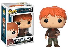 Funko POP! Movies Harry Potter Ron Weasley with Scabbers