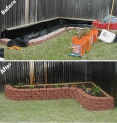 That would look pretty in a corner of my back yard Raised flower beds … - Modern Garden Yard Ideas, Backyard Projects, Outdoor Projects, Lawn And Garden, Garden Beds, Garden Projects, Home And Garden, Backyard Ideas, Patio Ideas