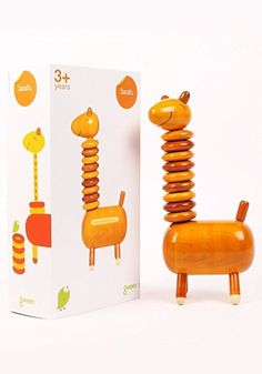 Gween Zarafu Wooden Counting Toy