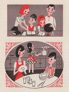 Mothers At Work: part of the Metropolitan Life pamphlet series. From 1963