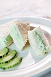 """The Help"" Cucumber Sandwiches"