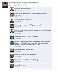 twilight/harry potter funny pics - Harry Potter Vs. Twilight excuse the language but this is funny.