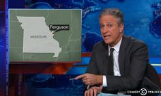 Must-see morning clip: Jon Stewart destroys Fox News coverage of protests in Ferguson.
