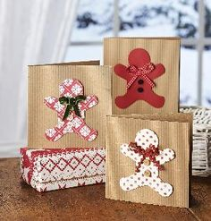 this would be cute with brown paper bags to give goodies - office, neighbors, etc.