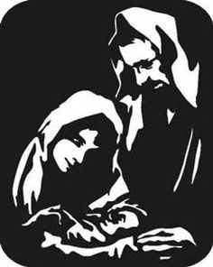nativity silhouette - Bing Images