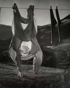Brassaï: Linge, Megève 1946