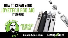 How To Clean Your Joyetech AIO [Tutorial]