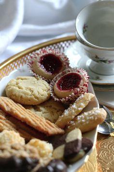 Kafferep med sju sorters kakor - Traditional Swedish cookies