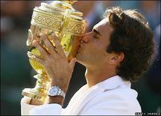 Art Wimbledon and Federer sport
