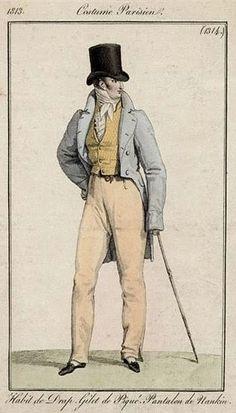 Costume Parisien 1813