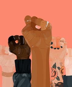 Drawing Woman girl power - We march to make herstory. Will you be by our side? Illustrations, Illustration Art, Feminist Art, Black Women Art, Girl Power, Women Empowerment, Female Art, Art Inspo, Artsy