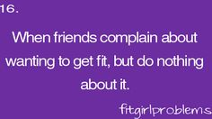 Fit girl problems !