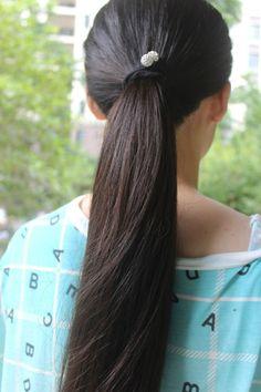 Gorgeous Hair, Pretty Hairstyles, Ponytail, Dreadlocks, Long Hair Styles, Beauty, Hair, Pony Tails, Hair Makeup