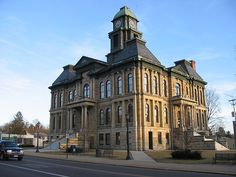 The Holmes County Courthouse is a historic government building in Millersburg, Ohio, United States. Built in the late nineteenth century, it has been designated a historic site because of its architectural importance. Built 1880. 1900 population: 1,998