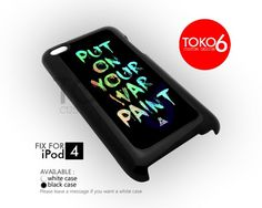 AJ 3882 Fall Out Boy Put On Your War - iPod 4 Case | toko6 - Accessories on ArtFire
