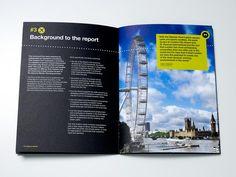 London City Airport Brochure designed by Scott Roberts Travel Brochure Design, Minimal Book, London City Airport, Brochure Examples, London Attractions, Publication Design, Book Design Layout, Digital Photography, Flyer Design